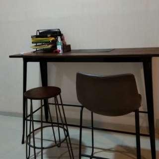Meja makan bar informa..free ongkir untuk jakarta