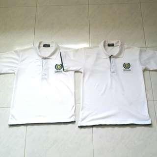 TJC White Polo Tshirts