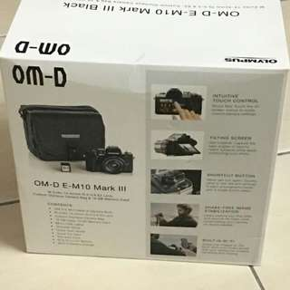 OM-D E-M10 MARK III OLYMPUS