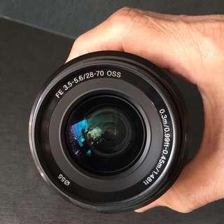 Sony FE 3.5-5.6/28-70 Lens
