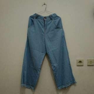 Jeans kulot rawis