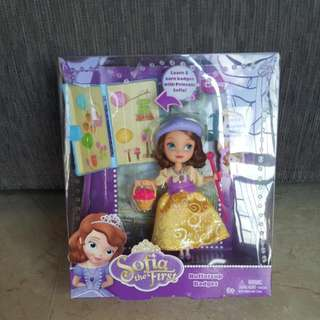 Disney Sofia The First Sofia Buttercup Scout Doll With Accessories By Mattel (Brand new In Box)
