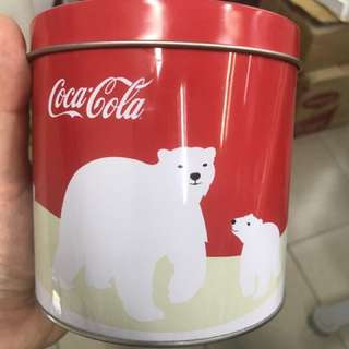 Coca-Cola Tin Container