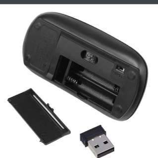 Wireless usb optical mouse
