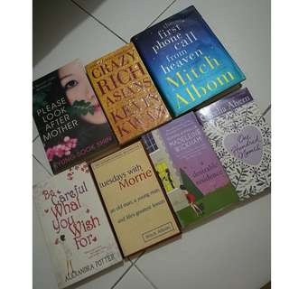 For Sale: Preloved Book Bundle of 7