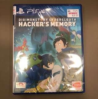PS4 Digimonstory Cybersleuth Hacker's Memory