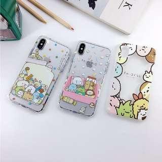 [FREE DELIVERY] (iPhone) Sumikko Gurashi phone cases