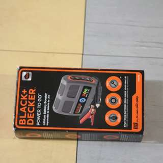 Black & Decker Battery Booster