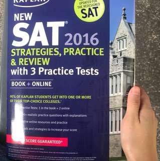 Kaplan SAT strategies and review