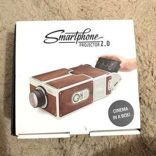 Smartphone Projector ( Proyektor Smartphone ) Cardboard Mini Portabel