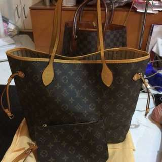 Neverfull Louis Vuitton with wallet