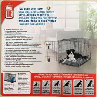 Hagen. dog.it XXL Dog Crate / Cage.