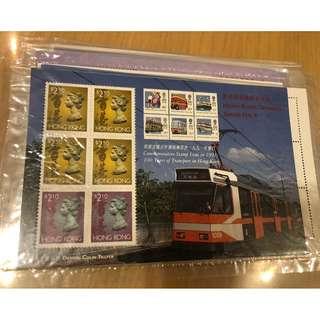 香港交通百年發展郵票 1991