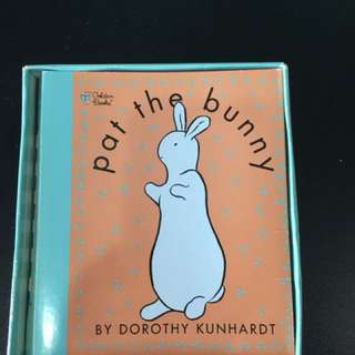 Pre-loved pat the bunny book