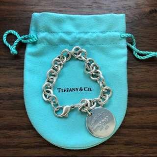 Tiffany & Co. Silver DogTag bracelet