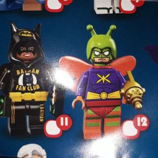 Original lego minifigures #12 (Batman Series)