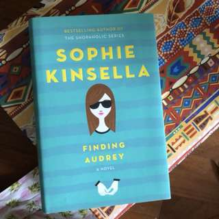 BN Finding Audrey hard cover by sophie kinsella