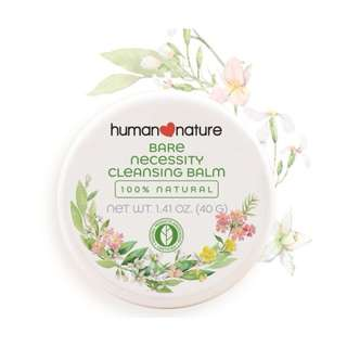 Bare Necessity Cleansing Balm 40g by HUMAN❤NATURE