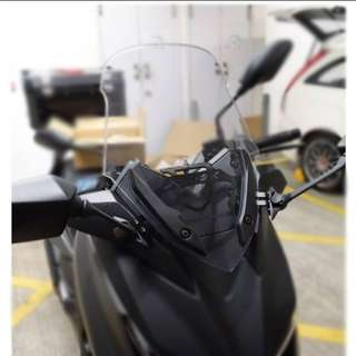 ※※※ Yamaha Xmax 300 forward mirror + bracket ※※※