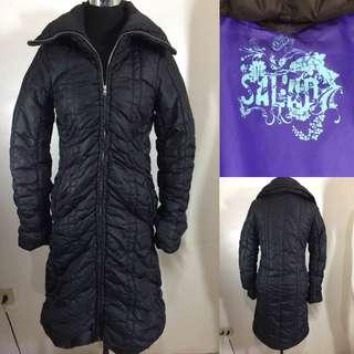 Salad thermal trench coat/ winter coat