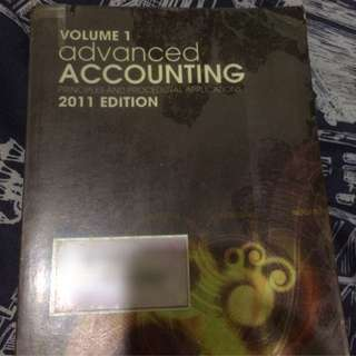 VOLUME 1 ADVANCE ACCOUNTING PRINCIPLES AND PROCEDURAL APPLICATION