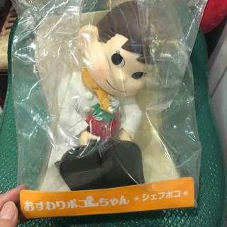 🚚 日本帶回牛奶妹男朋友poko 娃娃