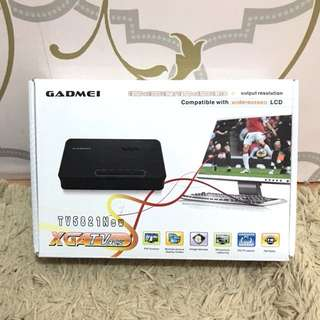 Gadmei TV5821 ( alat pengubah komputer menjadi TV )