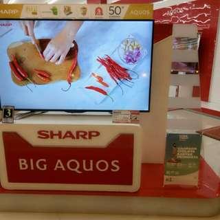 TV Sharp 50 Inch Cicilan Bunga 0%