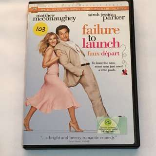 1DVD•30% OFF GREAT CNY GIFT/SALE {DVD, VCD & CD} failure to launch : To leave the nest, some men just need a little push - DVD