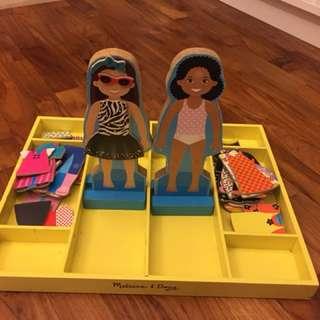 Melissa & Doug magnetic dress up set
