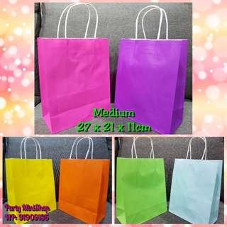 Paper Bags - Plain