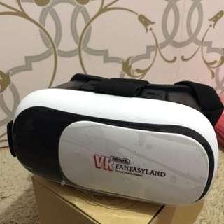 Remax Fantasy Land VR 3D ( Virtual Reality Glass )