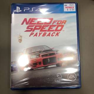 PS4 2nd Need For Speed