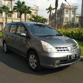 Nissan Grand Livina 2007 Matic,,murah, full orisinil