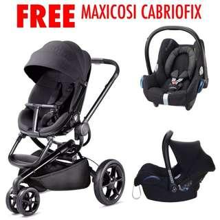Quinny Moodd with FREE Maxicosi Cabriofix