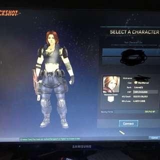 Colonel account with Permanent gun