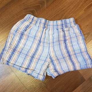 Plaid Shorts for Children