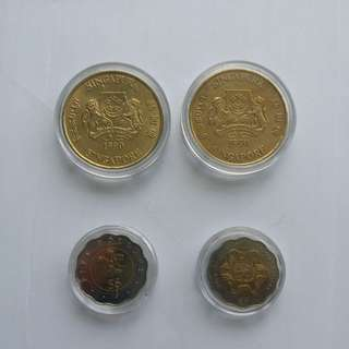 Singapore mint $5 coin