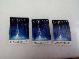 Lot of 3 Malaysia Measat