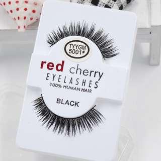 Type : 5001#, 5002#, 5008# & 5038# Red Cherry Thick False Eyelashes/Fake Eyelashes/ Eye Lashes