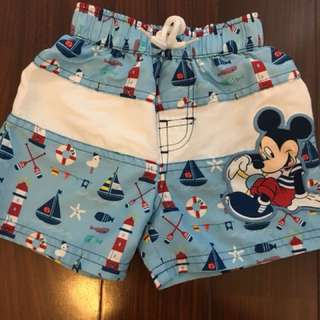 Mickey Board Shorts (6-9months)