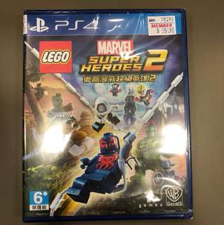 PS4 Marvel Super Heros 2