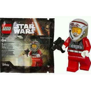 LEGO STAR WARS 5004408 REBEL A-WING PILOT POLYBAG NEW #OCT10