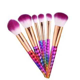 [FREE]🦄Unicorn Brush Set (6Brushes)💗