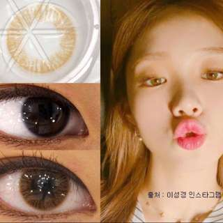 Instock korea brown solotica lens