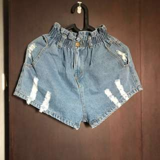 Denim Hot Pants short