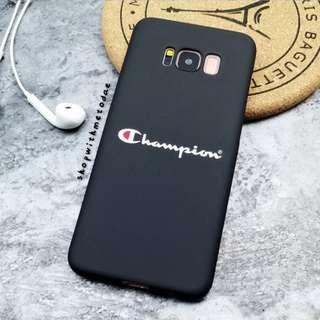 Champion Samsung Matte Note 8 / S8 plus / S8 casing