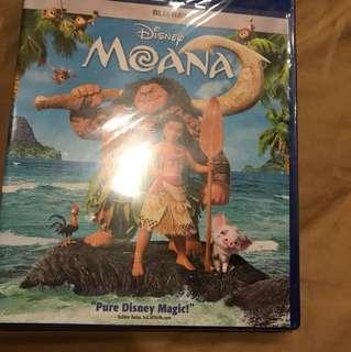 Original BluRay DVD - Disney Moana