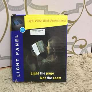 Lampu baca buku ( reading light pannel)