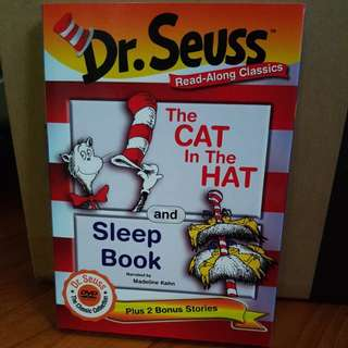 Dr. Seuss The Cat In The Hat and Sleep Book DVD